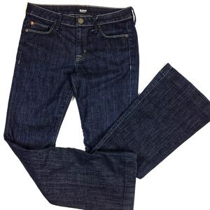 HUDSON Flat Pocket Flair Jeans Dark Wash 27